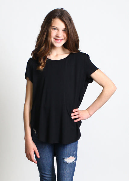Kids Tulip-Hem Top - Piko Clearance Center - 1