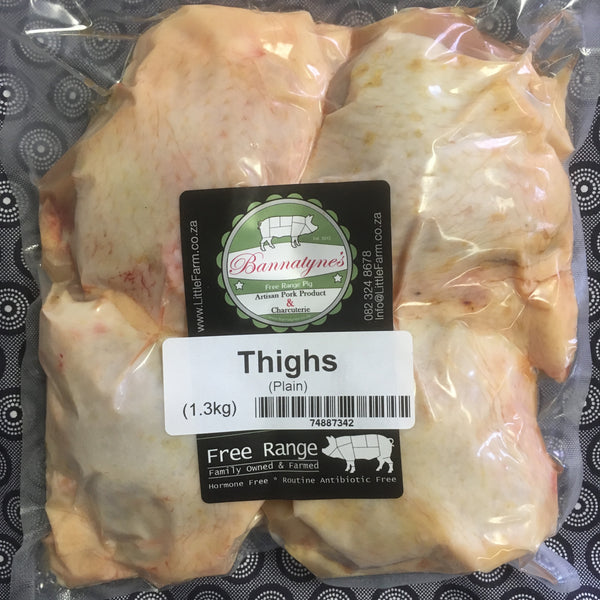 Bannatyne's Chicken Thighs - Plain