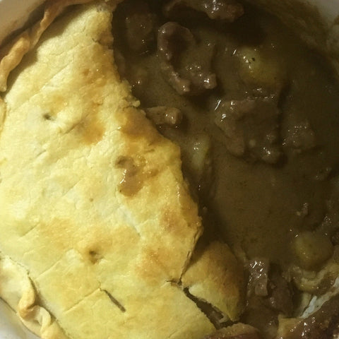 Bannatyne's Beef, Whiskey & Potato Pie
