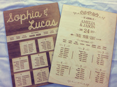 Wedding table plans, table plans, summer wedding, save the date