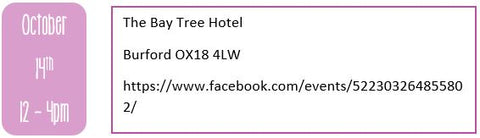 Oxfordshire wedding fairs, autumn wedding fairs, The Bay Tree hotel