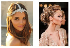 wedding hair, wedding hair trends 2019, hair chains