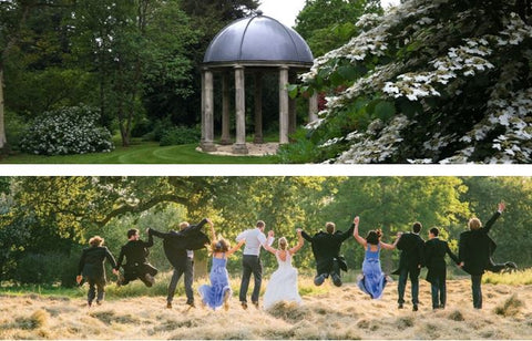 Oxfordshire wedding venue, Kingston Bagpuize House