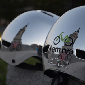 "I Am RVA ""Mirror Chrome"" Helmet"