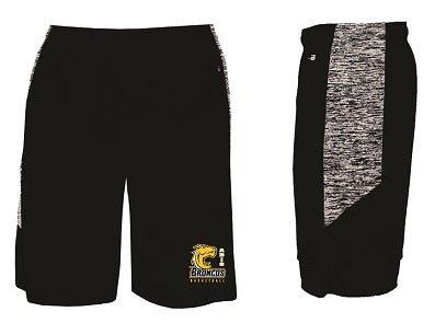 ABIS Basketball Pocketed Performance Shorts- BLACK