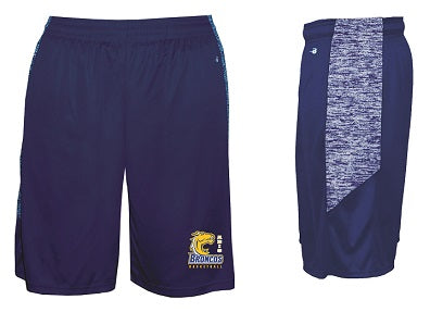 ABIS Basketball Pocketed Performance Shorts- ROYAL