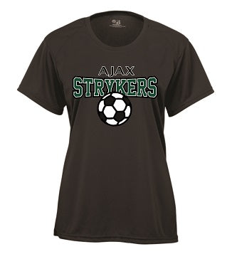 AJAX Strykers Ladies Performance Tech Tee- Available in 2 Colors