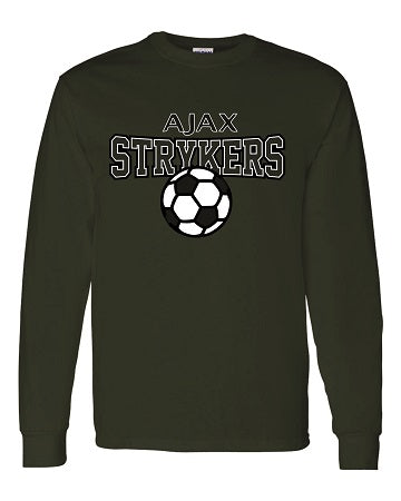 AJAX Strykers Longsleeve Tee- Available in 4 Colors