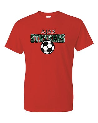 AJAX Strykers Red Practice Tee