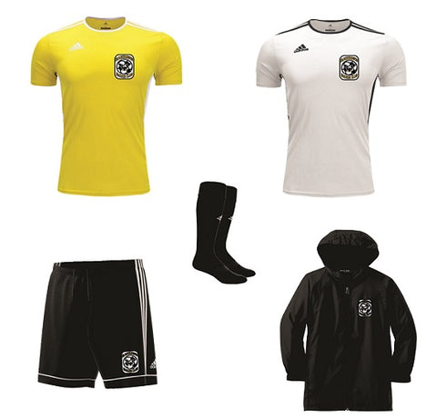 Blackhawks SC Uniform Kit- with Rain Jacket