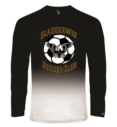 Blackhawks SC Two-Tone Performance Longsleeve Tee