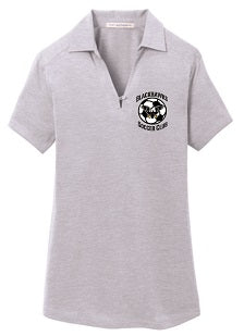 Blackhawks SC Drifit Ladies Coaches' Polo- GREY