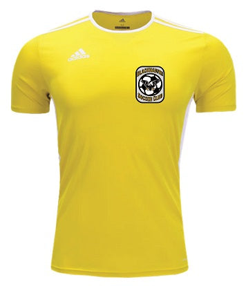 Blackhawks SC yellow jersey