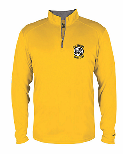 Blackhawks SC Lightweight 1/4 zip Pullover- GOLD