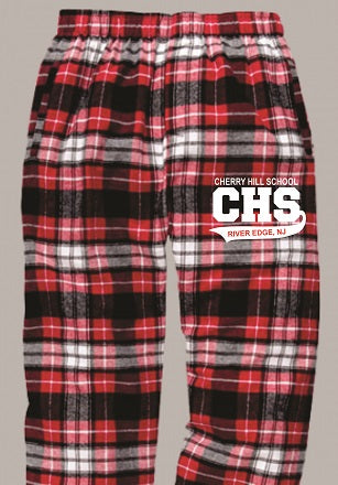 CHS Flannel Pants- RED/WHITE/BLACK