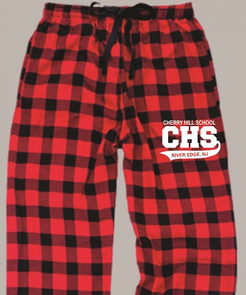 CHS Flannel Pants- RED/BLACK