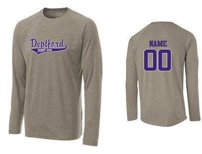 Deptford Legion Performance Longsleeve Tee- GREY