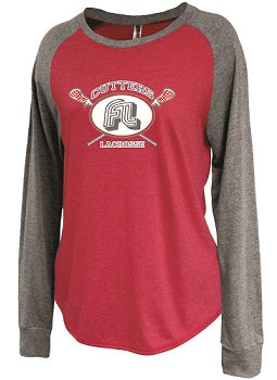 Fair Lawn Lacrosse Ladies Longsleeve Raglan Shirt