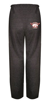 Fair Lawn Lacrosse Cotton Pocketed Sweatpants- CHARCOAL