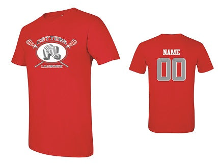 Fair Lawn Lacrosse Soft Cotton Tee- RED