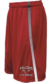 Falcons Lacrosse Avalanche Pocketed Shorts- Available in 2 Colors