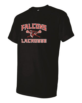 Falcons Lacrosse T-shirt- AVAILABLE IN 2 COLORS