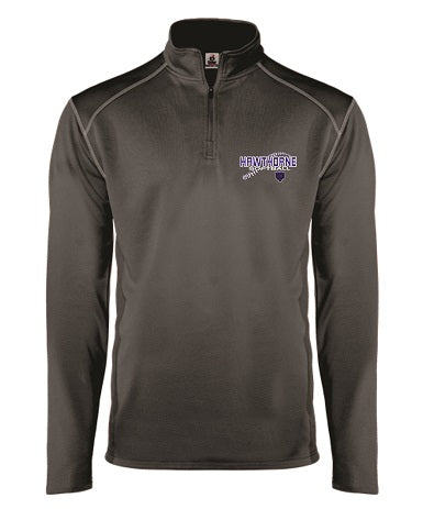 Hawthorne HS Softball Money Mesh 1/4 Zip Pullover- Available in 2 Colors