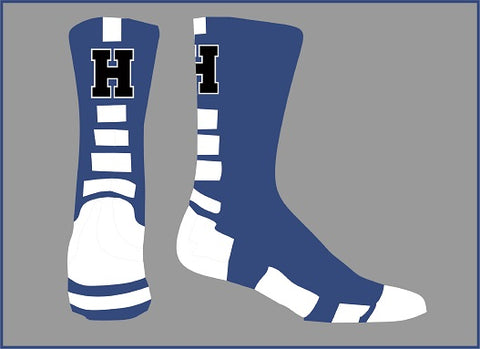 Hawthorne HS Softball Performance Crew Socks