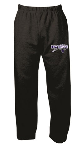 Hawthorne HS Softball Open Bottom Sweatpants- Available in 2 Colors
