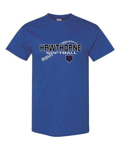 Hawthorne HS Softball Tee- Available in 3 Colors