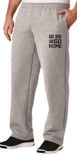 IH Class of 2018 GO BIG pocketed sweatpants- GREY