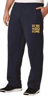 IH Class of 2018 GO BIG pocketed sweatpants- NAVY