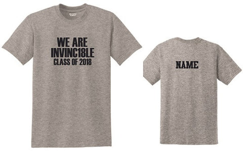 IH Class of 2018 INVINC18LE t-shirt- GREY