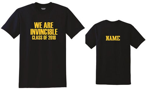 IH Class of 2018 INVINC18LE t-shirt- NAVY