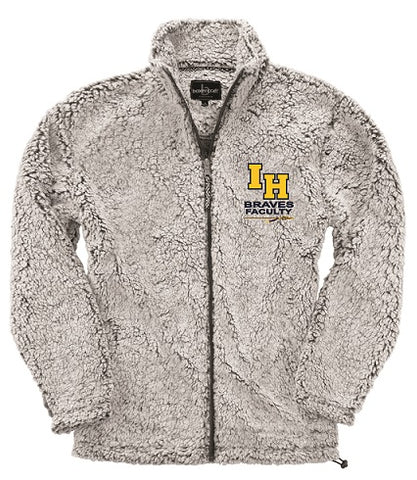 IHHS Faculty Full-Zip Sherpa Fleece