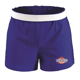 Lincoln Park Lightning Girls Soffe Shorts- ROYAL