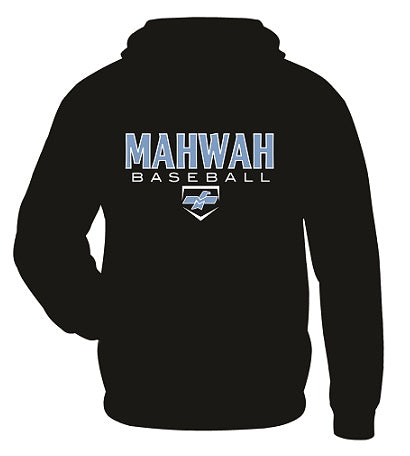 Mahwah Travel Baseball Performance Hoodie- Available in 2 Colors