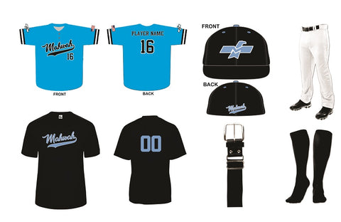 Mahwah Travel Baseball Player Kit
