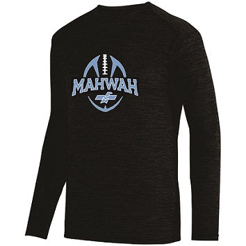 Mahwah Football Longsleeve Heathered Performance Tee
