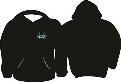 Mahwah Softball Embroidered Hoodie- BLACK