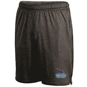 Mahwah Softball Pocketed Performance Short- BLACK HEATHER