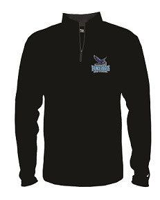 Mahwah Softball Lightweight 1/4 Zip- BLACK