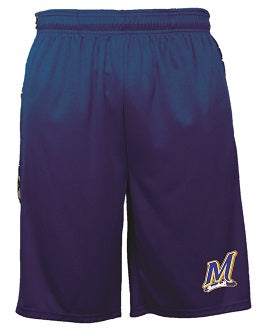 Manville Baseball Digital Camo Panel Performance Shorts