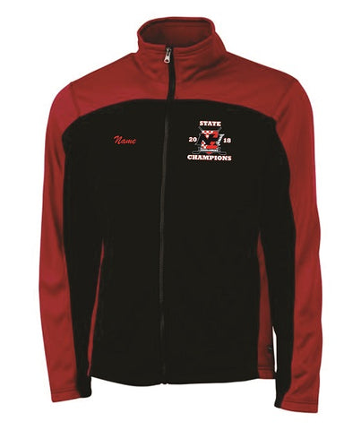 NH Hockey State Champs Embroidered Hexsport Bonded Jacket- Available in 2 colors