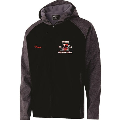 NH Hockey State Champs Embroidered Softshell Jacket