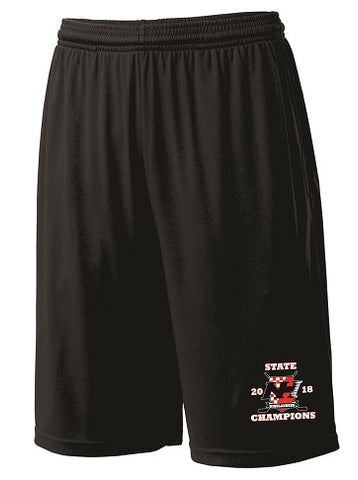NH Hockey State Champs Pocketed Performance Shorts