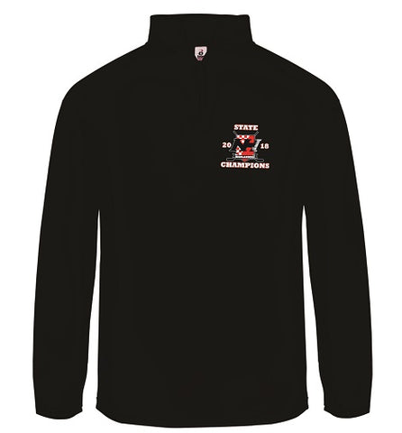 NH Hockey State Champs 1/4 Zip Performance Fleece