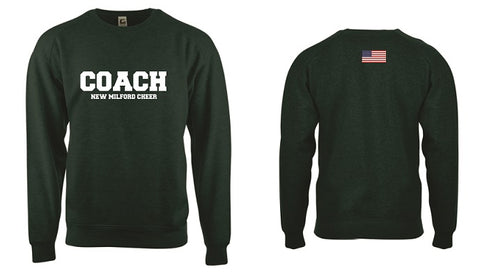 NM Knights Coach Crewneck Sweatshirt- CHEER
