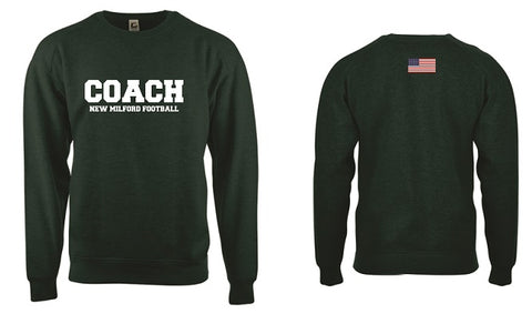NM Knights Coach Crewneck Sweatshirt- FOOTBALL