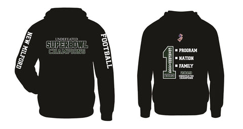 NM Knights Football SB Champs #1 Performance Hoodie- Available in 2 Colors